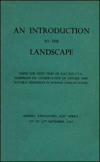 An introduction to the landscape : wildlife and land use ecology and