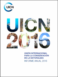 UICN rapport annuel 2016