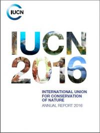 IUCN annual report 2016