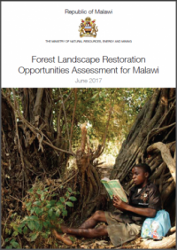 IUCN publication - Forest landscape restoration opportunity assessment for Malawi
