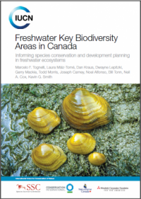 IUCN publication - Freshwater key biodiversity areas in Canada
