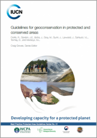 IUCN publication - Guidelines for geoconservation in protected and conserved areas
